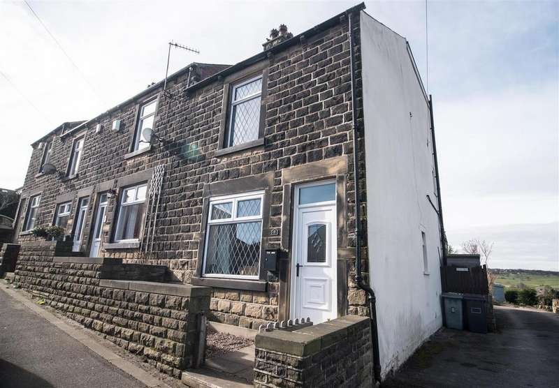 3 Bedrooms Semi Detached House for sale in Cliffe Street, Clayton West, Huddersfield, HD8 9NR