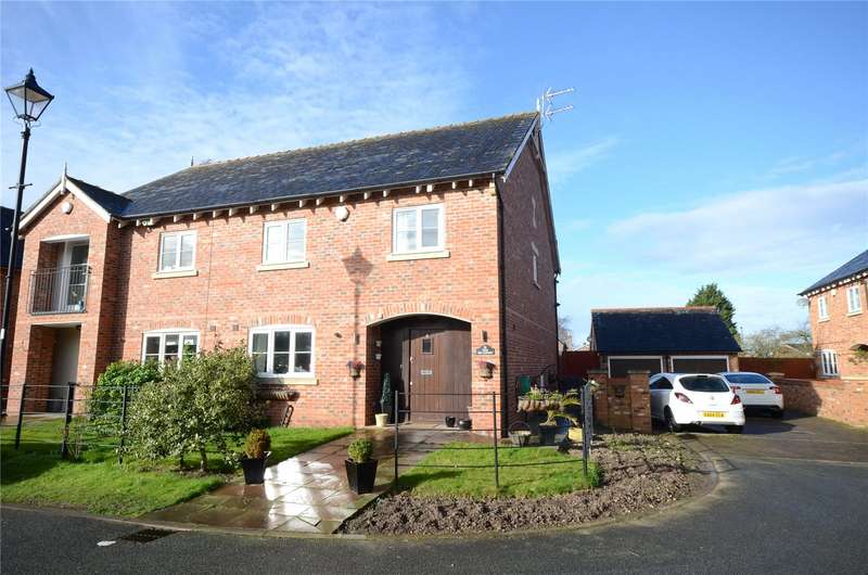4 Bedrooms Semi Detached House for sale in Church End Mews, Hale Village, Liverpool, L24
