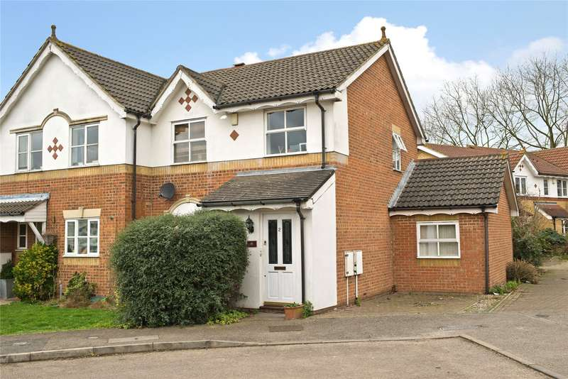 4 Bedrooms End Of Terrace House for sale in Hadleigh Close, London, SW20