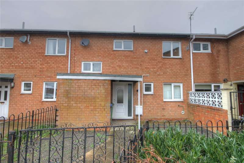 3 Bedrooms Terraced House for sale in Spruce Court, Shildon, County Durham, DL4