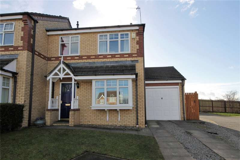 3 Bedrooms Semi Detached House for sale in Braemar Court, Blackhill, Consett, DH8