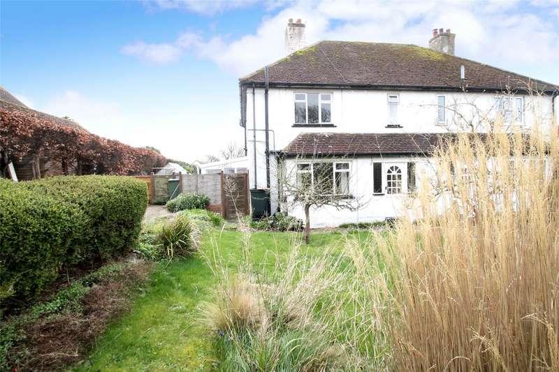 3 Bedrooms Semi Detached House for sale in Hoe Lane, Flansham, Bognor Regis, PO22