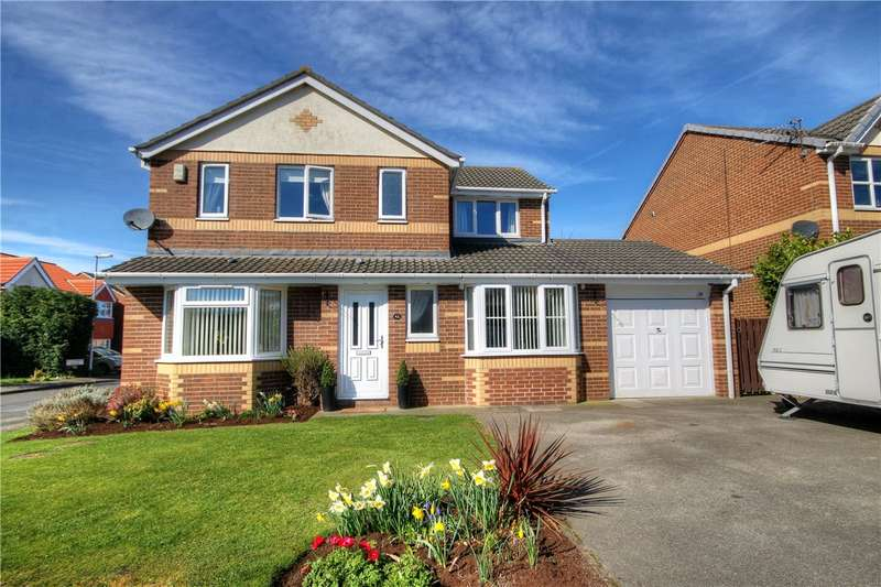 4 Bedrooms Detached House for sale in St Cuthberts Drive, Sacriston, Chester le Street, DH7