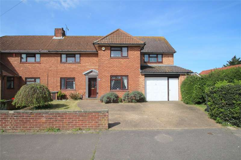 4 Bedrooms Semi Detached House for sale in Irene Avenue, Lancing, West Sussex, BN15