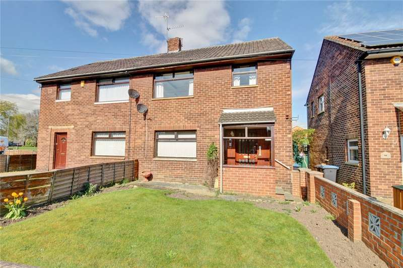 3 Bedrooms Semi Detached House for sale in Brackenfield Road, Framwellgate Moor, Durham, DH1