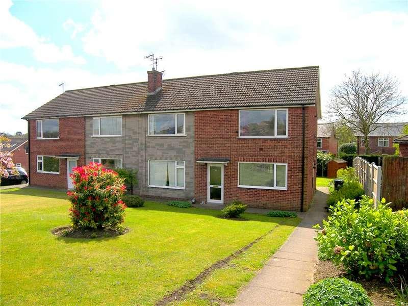 2 Bedrooms Flat for sale in Belvedere Close, Swanwick, Alfreton, Derbyshire, DE55