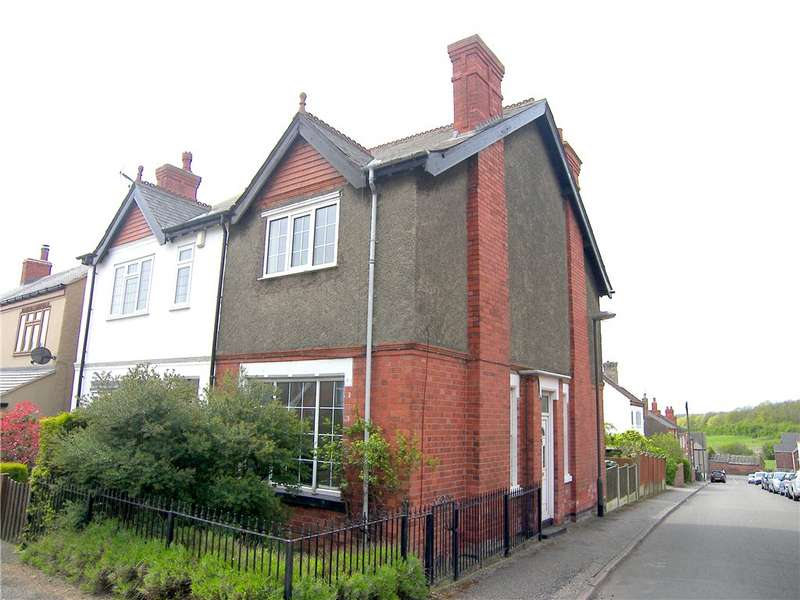 2 Bedrooms Semi Detached House for sale in George Street, Pinxton Hilltop, Nottingham, Nottinghamshire, NG16