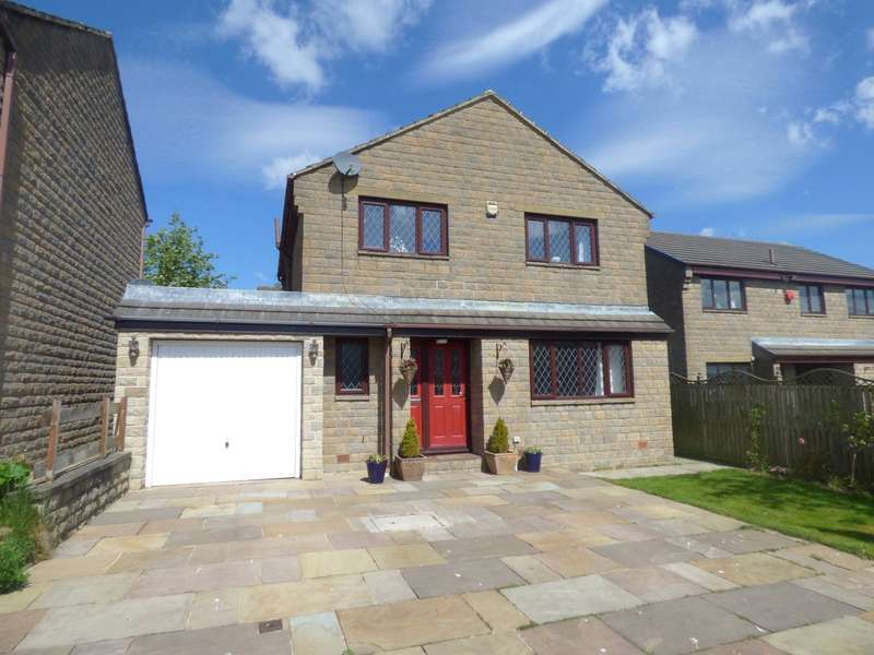 4 Bedrooms Detached House for sale in Delves Wood Road, Beaumont Park, HUDDERSFIELD, West Yorkshire, HD4