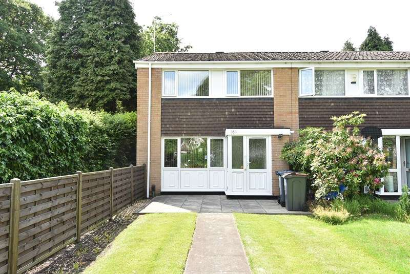3 Bedrooms End Of Terrace House for sale in Yardley Wood Road, Moseley