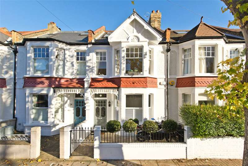 4 Bedrooms Terraced House for sale in Astonville Street, Southfields, London, SW18