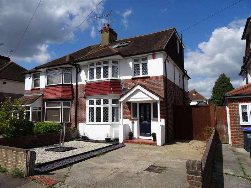 5 Bedrooms Semi Detached House for sale in Broomfield Avenue, Broadwater, Worthing, BN14
