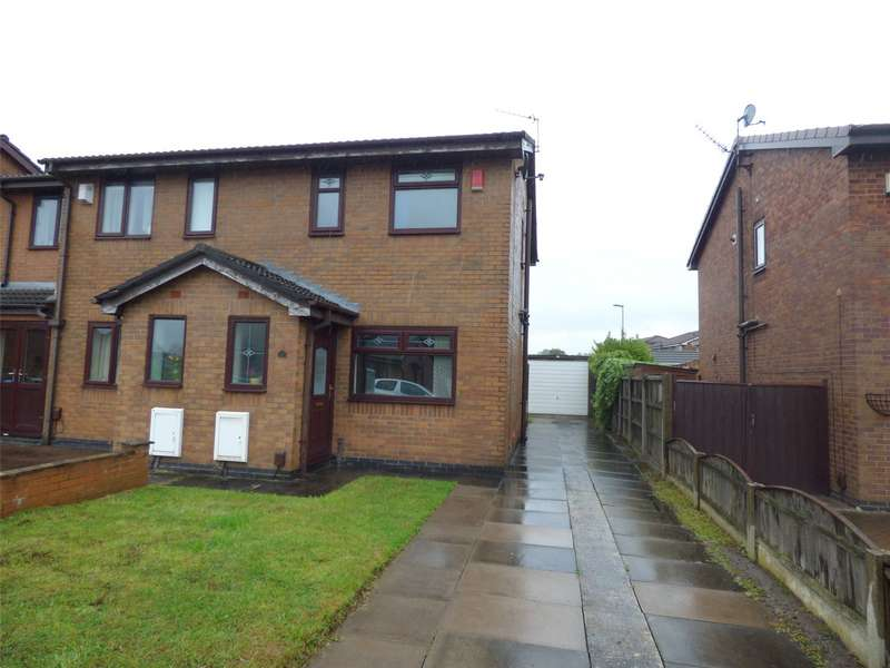 2 Bedrooms Semi Detached House for sale in Foxfield Drive, Hollinwood, Oldham, Lancashire, OL8