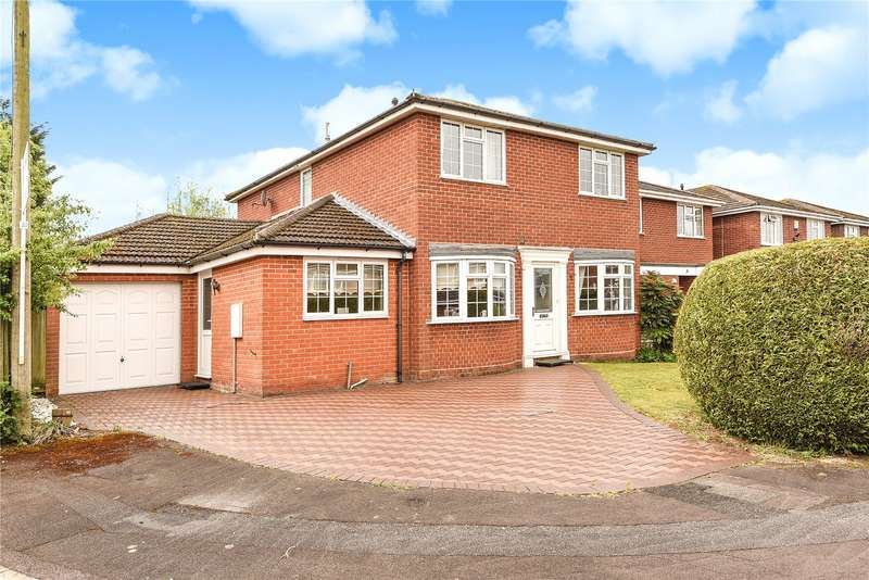 4 Bedrooms Detached House for sale in Childrey Way, Tilehurst, Reading, Berkshire, RG31