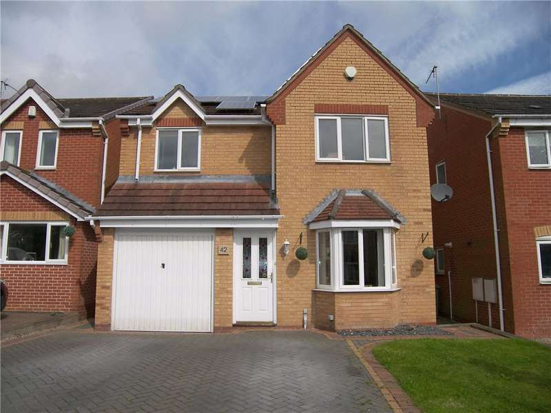 3 Bedrooms Detached House for sale in Ashton Road, Clay Cross, Chesterfield, Derbyshire, S45