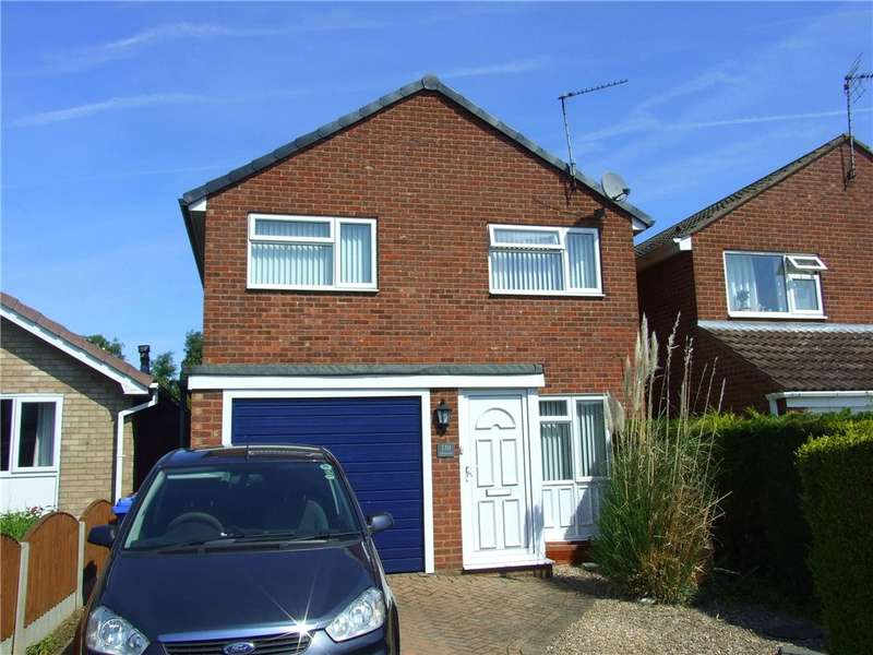 3 Bedrooms Detached House for sale in Lambourn Drive, Allestree, Derby, Derbyshire, DE22