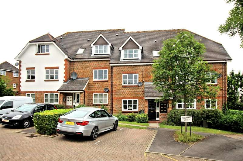 2 Bedrooms Apartment Flat for sale in Capstans Wharf, Woking, Surrey, GU21