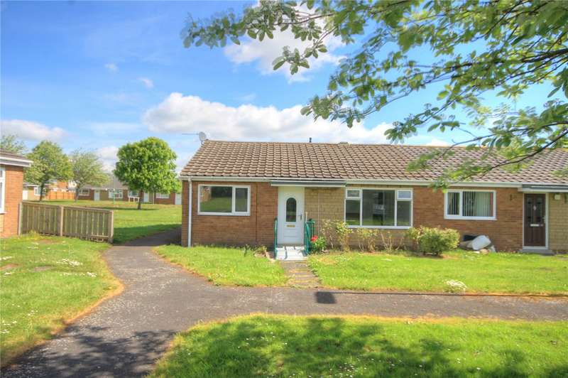 2 Bedrooms Semi Detached Bungalow for sale in Oakwood, Catchgate, Stanley, DH9