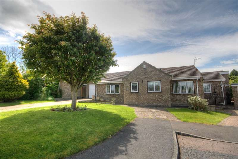 2 Bedrooms Detached Bungalow for sale in Rush Park, Bishop Auckland, Co Durham, DL14