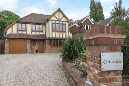 4 Bedrooms Detached House for sale in Westerham Road, Keston