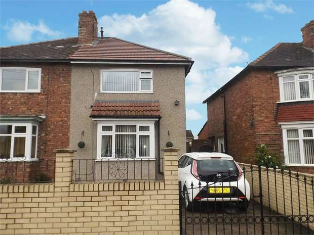 2 Bedrooms Semi Detached House for sale in Brankin Road, Darlington, Durham
