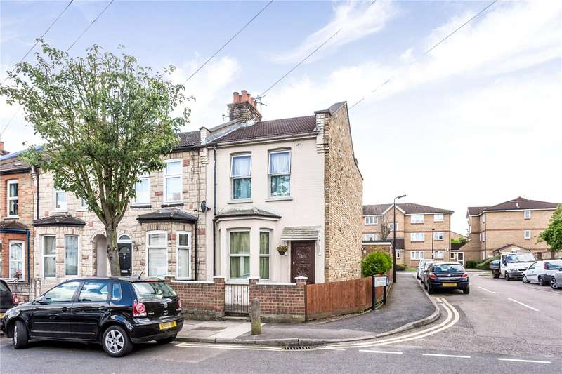 3 Bedrooms End Of Terrace House for sale in Burleigh Road, Enfield, EN1