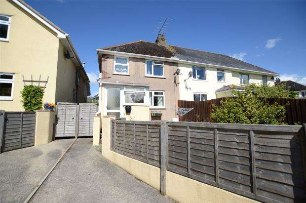 3 Bedrooms Semi Detached House for sale in Clifford Avenue, Kingsteignton, Newton Abbot, Devon
