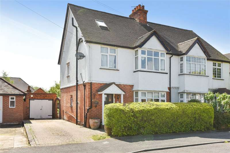 4 Bedrooms Semi Detached House for sale in Alwyn Road, Maidenhead, Berkshire, SL6