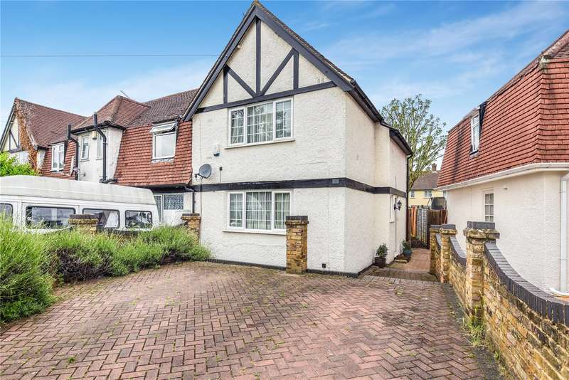 3 Bedrooms End Of Terrace House for sale in Park View Road, Hillingdon, Middlesex, UB8