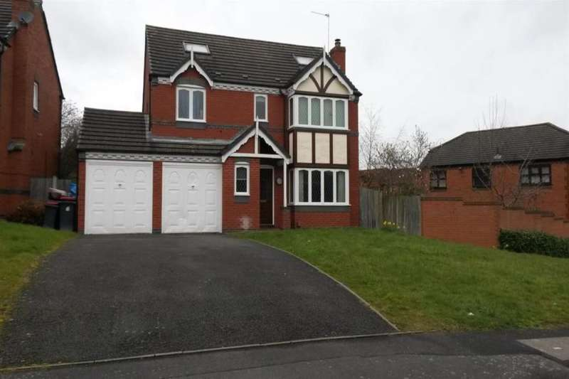 5 Bedrooms Detached House for sale in Kingfisher Way, Apley, Telford, TF1
