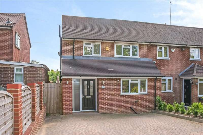 3 Bedrooms End Of Terrace House for sale in Batchwood Drive, St. Albans, Hertfordshire