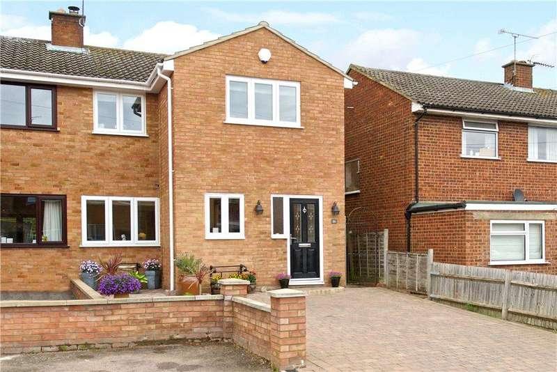 4 Bedrooms Semi Detached House for sale in Blackthorn Grove, Woburn Sands, Milton Keynes, Buckinghamshire