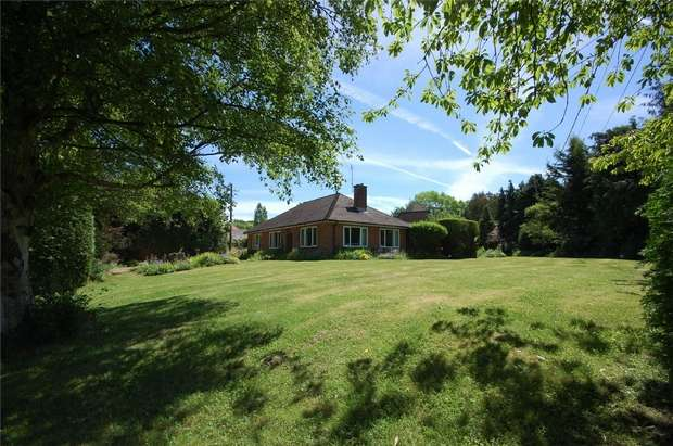 3 Bedrooms Detached Bungalow for sale in Bentley, Farnham, Hampshire