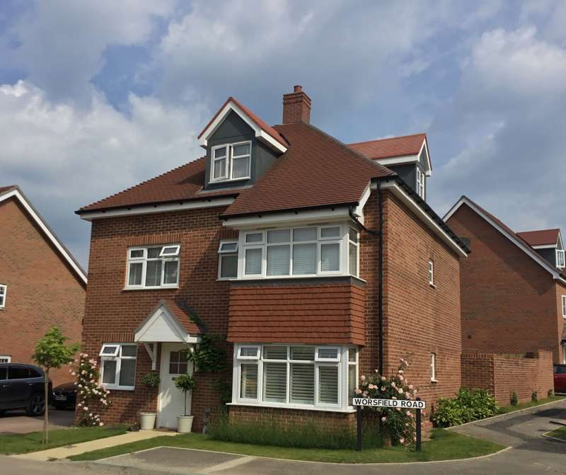 5 Bedrooms Detached House for sale in Worsfield Road, Broadbridge Heath, Horsham, West Sussex, RH12