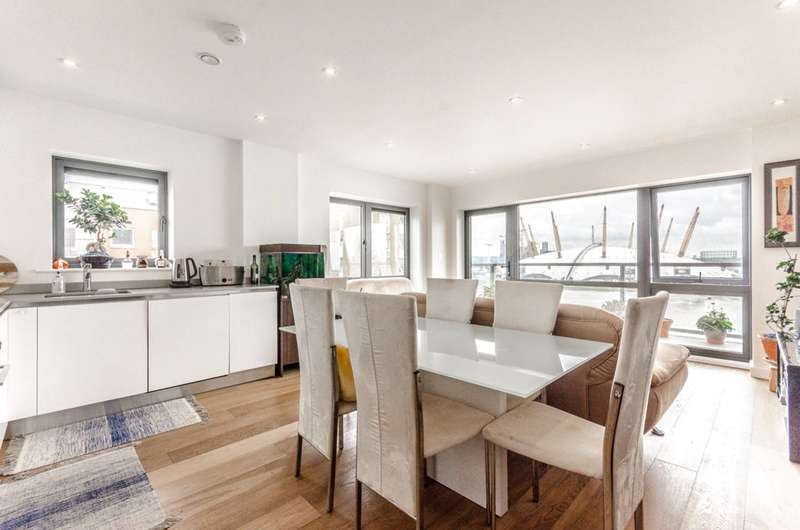 2 Bedrooms Flat for sale in Longitude House, Canary Wharf, E14