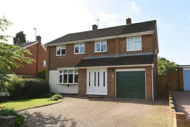 4 Bedrooms Detached House for sale in Falcon Avenue, Bedford