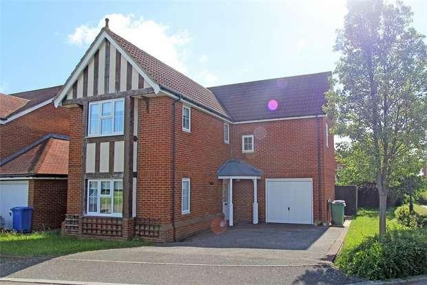 4 Bedrooms Detached House for sale in Greenshanks, Iwade, SITTINGBOURNE, Kent