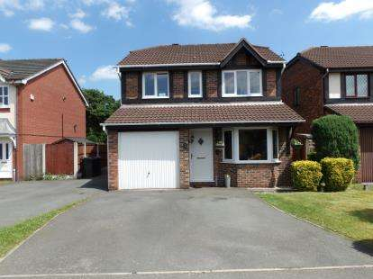 4 Bedrooms Detached House for sale in Harrogate Close, Great Sankey, Warrington, WA5