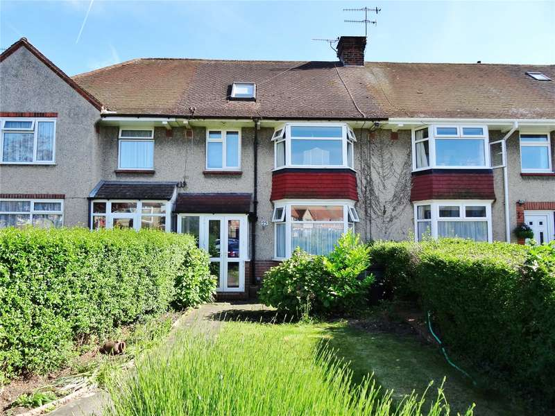 4 Bedrooms Terraced House for sale in Marlowe Road, Broadwater, Worthing, BN14