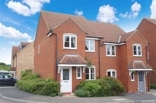 3 Bedrooms Semi Detached House for sale in Pedley Way, Bedford