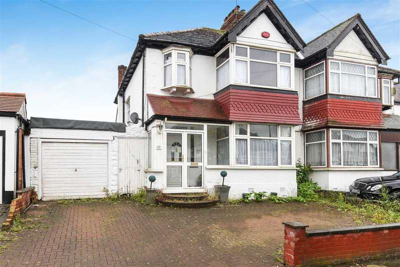 3 Bedrooms Semi Detached House for sale in Paxford Road, Wembley