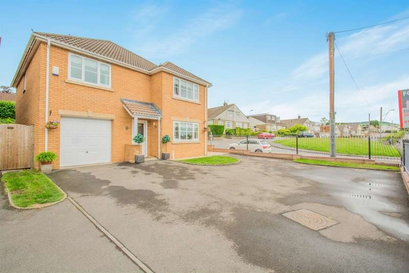 4 Bedrooms Detached House for sale in Oaktree Close, Brynna, PONTYCLUN