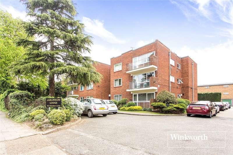 1 Bedroom Flat for sale in Laburnum Lodge, 45 Hendon Lane, Finchley, London, N3