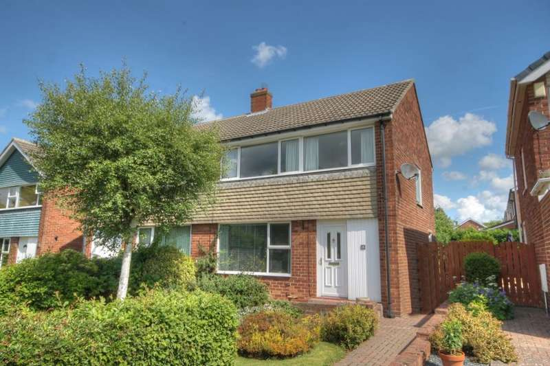 3 Bedrooms Semi Detached House for sale in Arnside Walk, Chapel House, Newcastle Upon Tyne, NE5