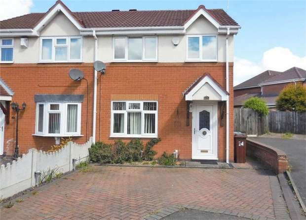 3 Bedrooms Semi Detached House for sale in Higham Way, Wolverhampton, West Midlands