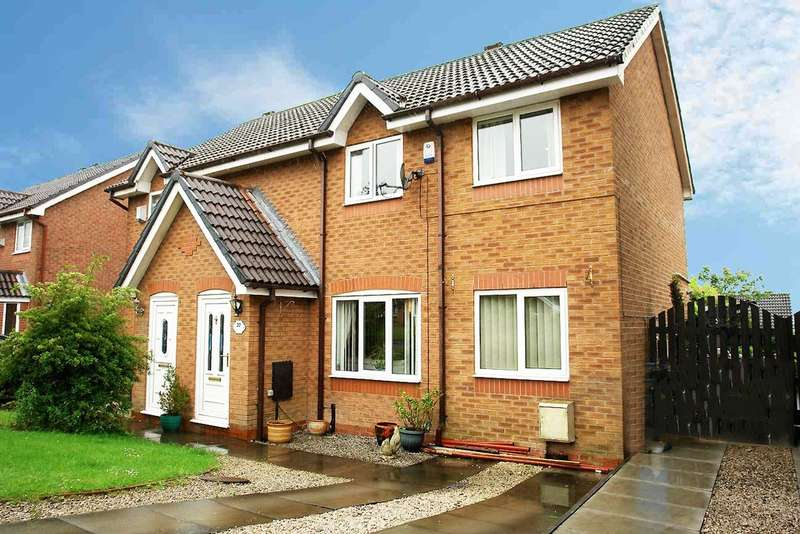 4 Bedrooms Semi Detached House for sale in 22 Fresca Road, Moorside