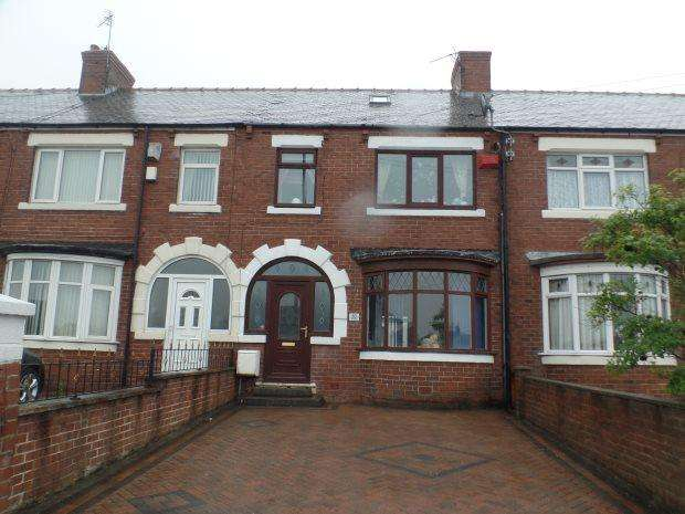 3 Bedrooms Terraced House for sale in LEAHOLME TERRACE, BLACKHALL, PETERLEE AREA VILLAGES