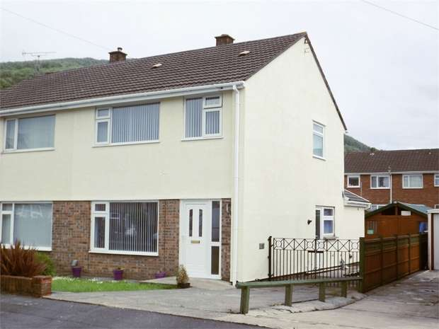 3 Bedrooms Semi Detached House for sale in Heol Y Nant, Baglan, Port Talbot, West Glamorgan