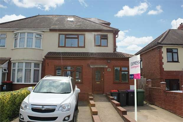 4 Bedrooms Semi Detached House for sale in Haybridge Road, Hadley, Telford, Shropshire
