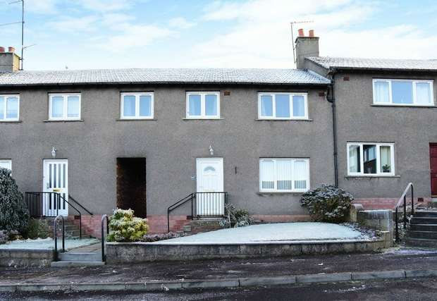 3 Bedrooms Terraced House for sale in Strathmore Avenue, Forfar, Angus