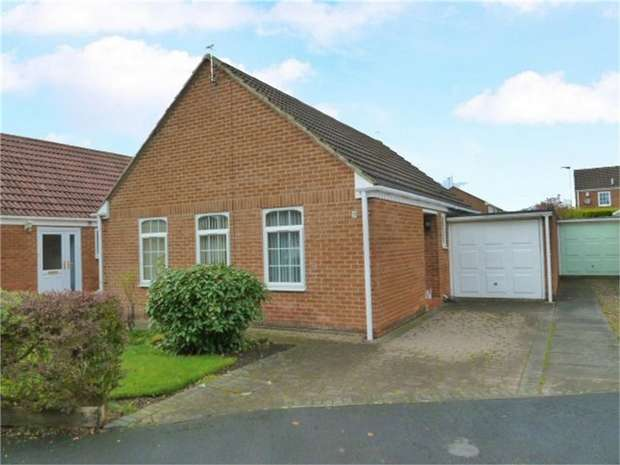 2 Bedrooms Detached Bungalow for sale in Winchester Way, Bedlington, Northumberland